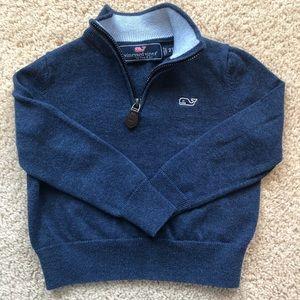 Vineyard Vines 1/4 Zip Sweater - 2T